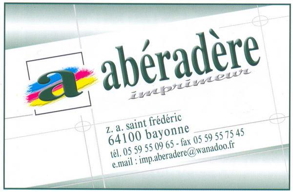imprimerie abéradère